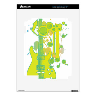 GUITAR-POP TUNES DECAL FOR iPad 2