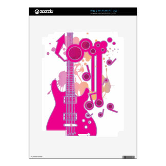 GUITAR-POP TUNES DECAL FOR THE iPad 2