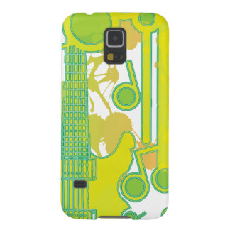 GUITAR-POP TUNES GALAXY S5 CASE