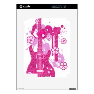 GUITAR-POP TUNES iPad 2 DECAL