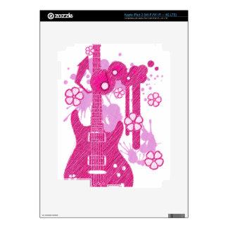 GUITAR-POP TUNES iPad 3 SKIN