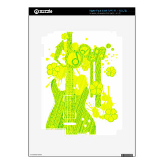 GUITAR-POP TUNES iPad 3 SKINS