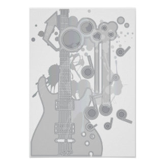 GUITAR-POP TUNES POSTERS