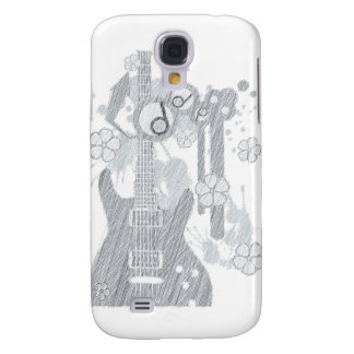 GUITAR-POP TUNES SAMSUNG S4 CASE