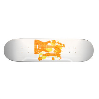 GUITAR-POP TUNES SKATEBOARD DECK