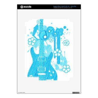 GUITAR-POP TUNES SKIN FOR iPad 3