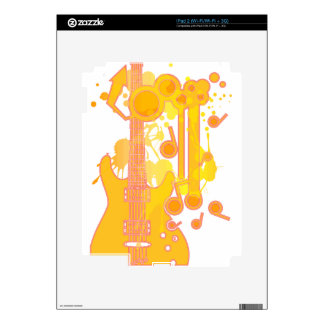 GUITAR-POP TUNES SKINS FOR iPad 2