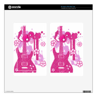 GUITAR-POP TUNES SKINS FOR KINDLE FIRE
