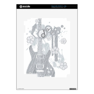 GUITAR-POP TUNES SKINS FOR THE iPad 2