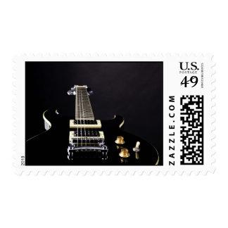Guitar Postage Stamp