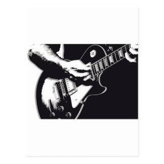 Guitar Postcard