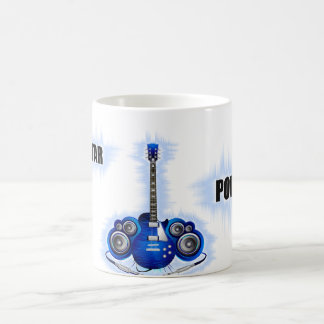 Guitar Power Coffee Mug