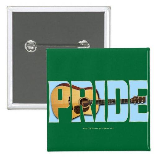 Guitar Pride Button