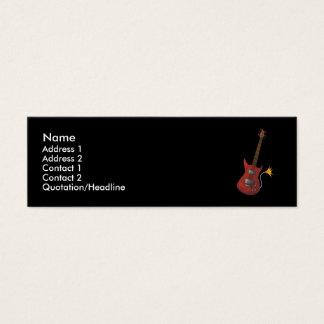 Guitar Profile Card