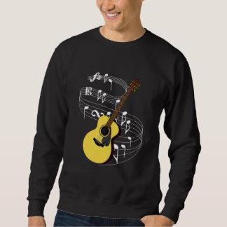 Guitar Pullover Sweatshirts