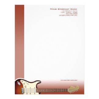 Guitar Pusher Letterhead