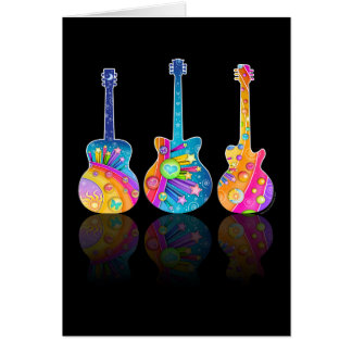 Guitar Reflections Card