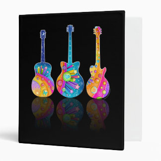 GUITAR REFLECTIONS Personalizable BINDER