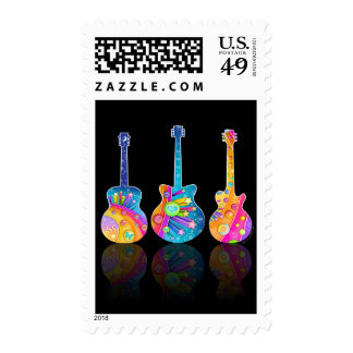 Guitar Reflections Postage