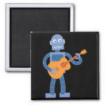 Guitar Robot 2 Inch Square Magnet