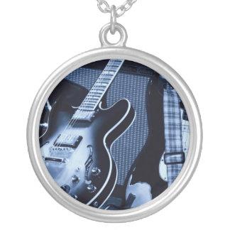 Guitar Rock God Pendant