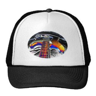 Guitar Rock Mesh Hat