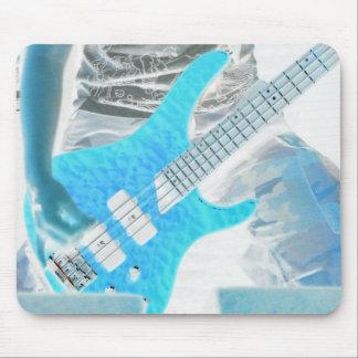 Guitar Rock motif Mouse Pad