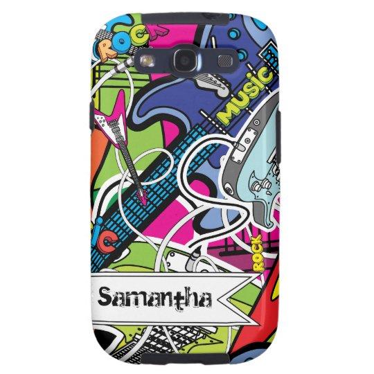 Guitar Rock Music Star Samsung Galaxy Case