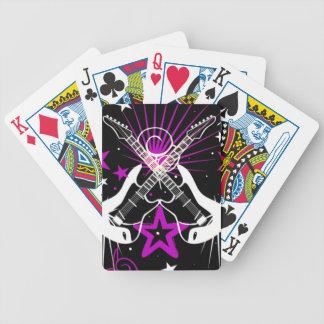 Guitar Rock N Roll Deck of Cards