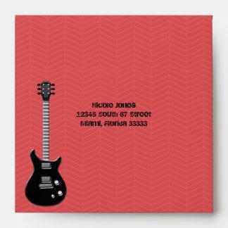 Guitar Rock Star Envelope