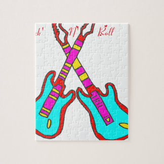 GUITAR ROCK'N'ROLL NR ROLL.png Jigsaw Puzzle