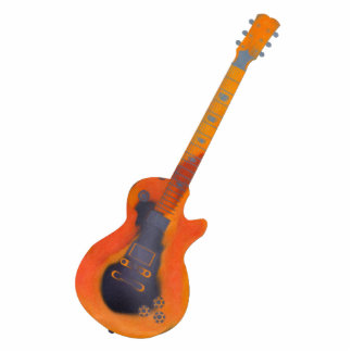 Guitar Sculpture Cut Outs