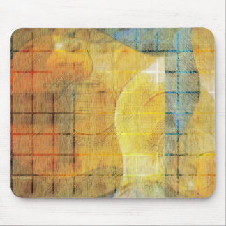 Guitar Sections Abstract Mouse Pad