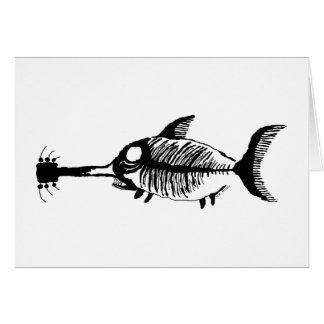 Guitar Shark Fossil Fish Card