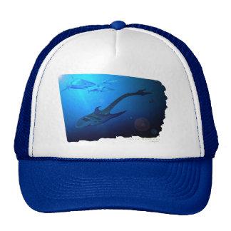 Guitar Shark Trucker Hat