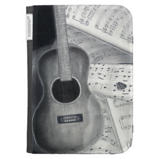 Guitar & Sheet Music Kindle Case