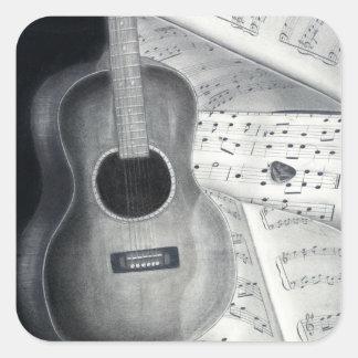 Guitar & Sheet Music Stickers