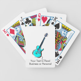 guitar single cutaway music design l blue.png bicycle playing cards