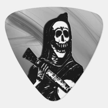Halloween Themed Guitar Skeleton Serenade Guitar Pick