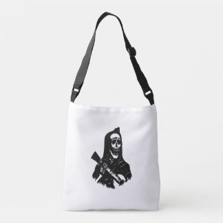 Guitar Skeleton Serenade Tote Bag