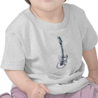 guitar sketch heavy distortion tshirt