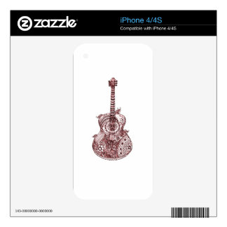 Guitar Skin For The iPhone 4