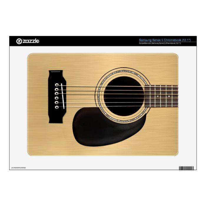 Guitar Skin Samsung Chromebook Decals