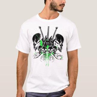 guitar skulls T-Shirt