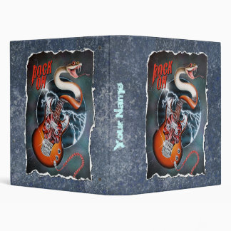 Guitar Snake Binder with Your Name