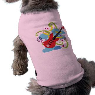Guitar Solo Dream Dog T Shirt