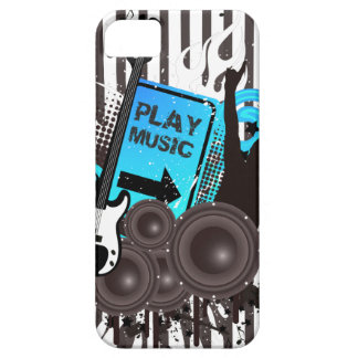 Guitar & Speakers Time To Party iPhone 5 Covers