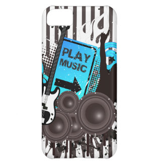 Guitar & Speakers Time To Party iPhone 5C Case