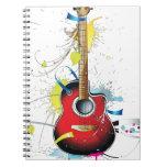 Guitar Spiral Notebooks
