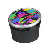 Guitar Splash Pattern Bluetooth Speaker